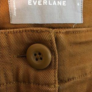 Everlane Pants - Everlane Wide Leg Utility Crop size 28